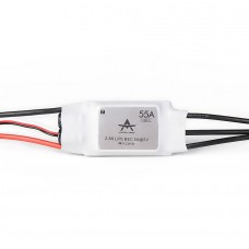 T-Motor Brushless ESC RC ESC AT Series 55A 2-6S For RC Fixed Wing Aircraft (AT-55A-UBEC)