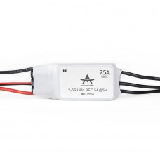 T-Motor Brushless ESC RC ESC AT Series 75A 2-6S For RC Fixed Wing Aircraft (AT-75A-UBEC)