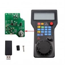 4 Axis Wireless CNC Handwheel MPG USB Open-Source DIY STM32F10x For CNC 4 Axis Milling Machine