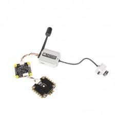 T-Motor FPV Flight Controller + 6S Brushless ESC w/ LED For DJI VTX System (F4 HD + F55A ProII)