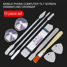 10pcs Mobile Phone Repair Tools Kit Spudger Pry Opening Tool Set for iPhone iPad Samsung Cell Phone Hand Tools Set