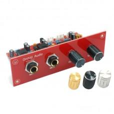 PT2399 Microphone Amplifier Board Digital Karaoke Reverberation Board Finished Board with Panel