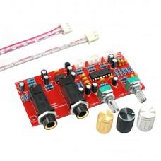 PT2399 Microphone Amplifier Board Digital Karaoke Reverberation Board Preamplifier Finished Board