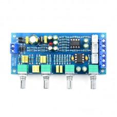 NE5532 Preamp Board HiFi Power Amplifier Subwoofer Tone Board Low Pass Filter Preamplifier Assembled
