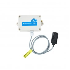 Wireless IoT Module IOT105+DS18B20 Temperature Sensor Input For Modbus RTU Over TCP 4G Communication