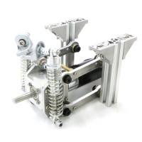 Chassis Wheel Independent Suspension Shock Absorber Damper with Planetary Gear Motor MD36 1:71