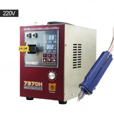 SUNKKO 737DH Mini Battery Spot Welder Welding Machine Induction Delay For 18650 Lithium Battery 220V