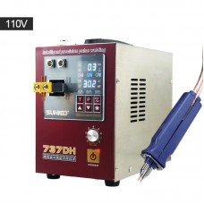 SUNKKO 737DH Mini Battery Spot Welder Welding Machine Induction Delay For 18650 Lithium Battery 110V