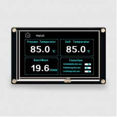 Nextion Enhanced NX8048K050 5.0'' HMI Touch Display LCD Module Screen 32MB Flash Built-in RTC