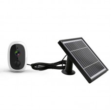 WiFi Solar Power Outdoor Camera 2MP 1080P PIR Motion Sensor with Solar Panel (Primary Color)