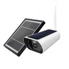 4G Solar Power Outdoor Camera 2MP IP66 Solar Power Security Camera 2-Way Audio with Solar Panel (EU)