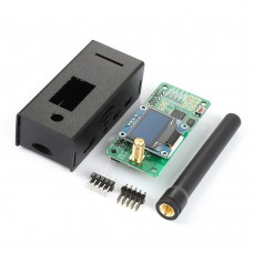 UHF VHF UV MMDVM Hotspot Kit Unassembled with Shell For DMR P25 YSF DSTAR Raspberry Pi Zero 3B 3B