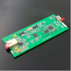 SE7 Bluetooth 5.0 Amplifier Board USB Decoding Amp DAC APTX-HD 24BIT with Computer Connection Cable