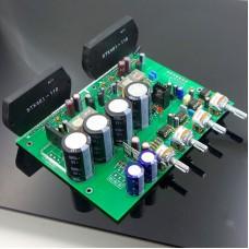 STK401 HiFi Power Amplifier Board 2.0 Channel Audio Amplifier Module with Pre-amplifier 200W 70Wx2