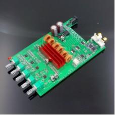 DP1A TPA3116 2.1 Digital Amplifier Board Subwoofer Bluetooth 5.0 APTX HD Power Amp Board DC 12-24V