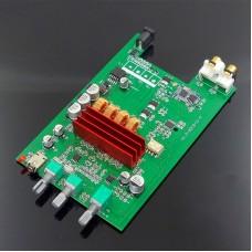 DP5 TPA3116D2 2.0 Digital Amplifier Board 100Wx2 Bluetooth 5.0 APTX HD Power Amp Board DC 12-24V