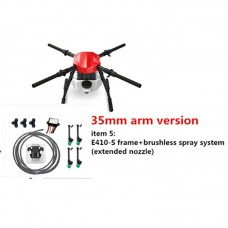 E410S Aricultural Drone 10L Four-axis Agricultural UAV Quadcopter Frame Kit with Spray System 1393mm wheelbase