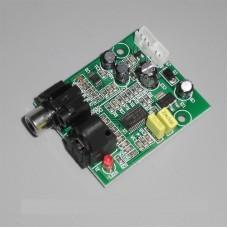 DAC Digital Decoder 24 Bit 192K Optical Fiber Coaxial Decoding Board CS8416+CS4344 For Amplifier