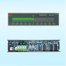 LED Bargraph Display Panel Meter Deviation Indicator 101 Segments DC 5V Center Zero AE1101FW29Z
