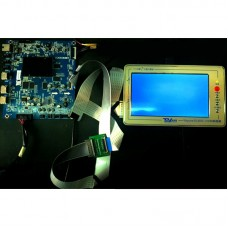 TV160 7th Generation Mainboard Tester Tool LCD Display Vbyone LVDS to HDMI Converter+7 Adapter Board