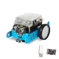 Makeblock mBot DIY Robot Kit Programming Education Robot for STEM Education 1.1 BT 2.4G Version Blue