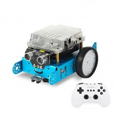 Makeblock mBot DIY Robot Kit Programming Education Robot with Remote Control 1.1 BT Version Blue