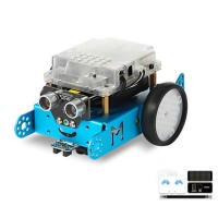 Makeblock mBot DIY Robot Kit Programming Education Robot with Custom Expression Panel for Children