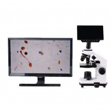 "16MP Industrial Microscope Camera HDMI 1080P PCB Repair Microscope w/ 0.5X Adapter 5"" Screen"