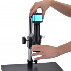 Microscope Camera Stand with 50mm Ring Holder For Industrial Microscope Camera (without Lens)