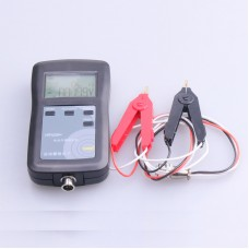 YR1035+ Lithium Battery Internal Resistance Tester Meter Range 0-100V 0-200Ω (with Kelvin Clips)