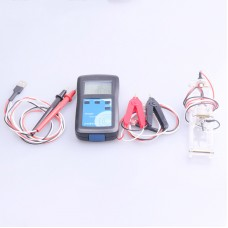YR1030+ Lithium Battery Internal Resistance Tester Meter Test Range 0-28V 0-200Ω (Full Kit)