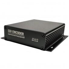 SDI Video Encoder H.265 H.264 1080P@60P For 3G SDI Video Live Streaming IPTV SRT Messaging XE5S