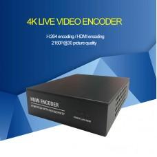 4K Encoder HDMI Video Encoder 1-Way H.264 Encoder 2160P@30fps Video Live Card For IPTV Live XE4K