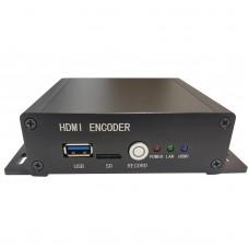 4K HDMI Video Encoder H.265 Encoder 2160P UHD Live Streaming For HLS XE9