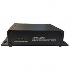 4K Video Transcoder H.265 RTSP To RTSP Max Resolution 3840x2160 8-Way Network Video to Webcast XT3