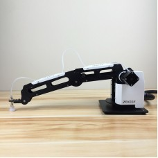 3-Axis Mechanical Robot Arm Industrial Manipulator Robotic Arm with Air Pump PLC Infrared Sensor