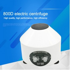 800D Centrifugal Machine Lower-speed Desktop Laboratory Electric Centrifuge with Timing Function