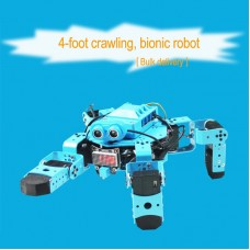Spider Robot Quadruped Robot Bionic Robot For Scratch Graphical Programming C Language Unassembled