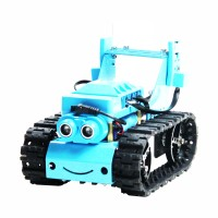 Tracked Tank Line Tracking Car Line Following Car Unassembled APP Control without Board For Micro:bit