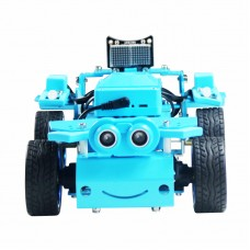 4WD Smart Robot Car Kit AI Remote Control Car Kit Unassembled Version For Scratch