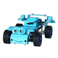 4WD Smart Robot Car Kit AI Remote Control Car Kit Unassembled Version without Board For Micro:bit