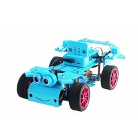 4WD Smart Robot Car Kit AI Remote Control Car Kit Unassembled Version with Board For Micro:bit