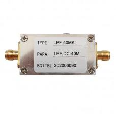 40M RF Low Pass Filter LPF Filter Ham Radio Low Pass Filter Module (LPF-40MK Version)