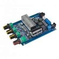 2*50W Bluetooth 5.0 Amplifier Board TPA3116 Amplifier 2 Channel Power Amp Stereo w/ Tone Knobs