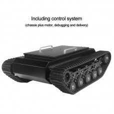 TR500 Tracked Robot Chassis Tank Chassis Assembled Shock Absorption Load 50KG with Control Kit