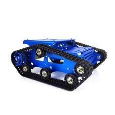 TR300P Tank Chassis Obstacle Avoidance Robot Car Chassis Kit Unassembled 37 Motor with Code Disc