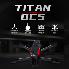 iFlight TITAN DC5 V1.4 222mm FPV Racing Drone Frame Unassembled For DJI HD Digital Image Transmission