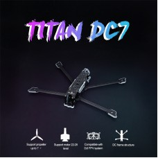 iFlight TITAN DC7 7 Inch FPV Frame 333mm Unassembled For DJI FPV Sky End HD Image Transmission