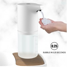 350ml Automatic Foam Soap Dispenser Waterproof Touchless Hands Free Soap Dispenser Rechargeable