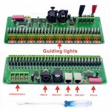 30 Channel DMX Constant Voltage Decoder DMX512 RGB LED Strip Controller Dimmer Driver